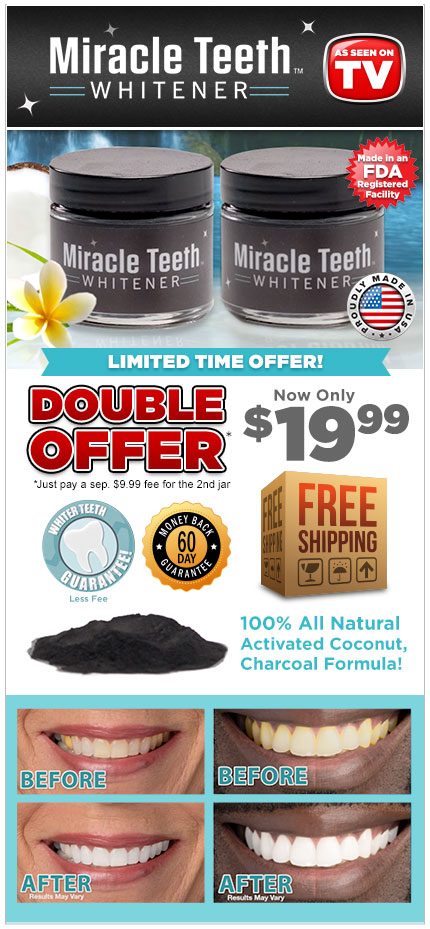 Order Miracle Teeth Whitener™ Now!